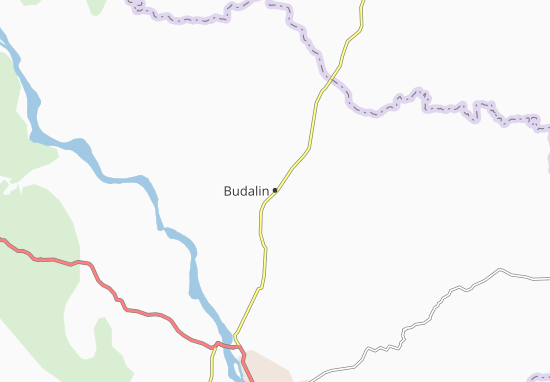Budalin Map