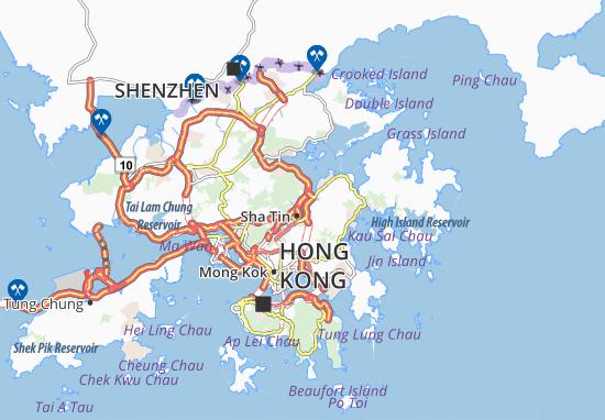 Shek Mun Map