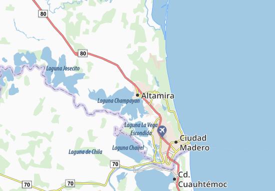 Altamira Mexico Map   Altamira Mexico Map