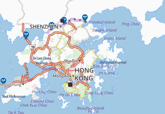 A Kung Kok Map