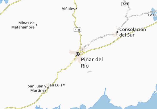 Carte-Plan Pinar del Río
