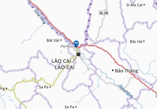 Carte-Plan Lào Cai