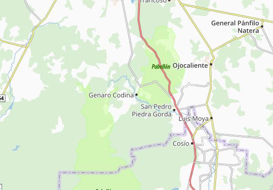 Carte-Plan Genaro Codina