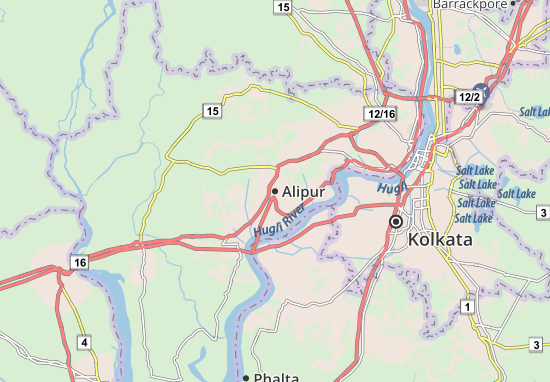 Carte-Plan Alipur