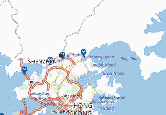 Sha Tau Kok Map