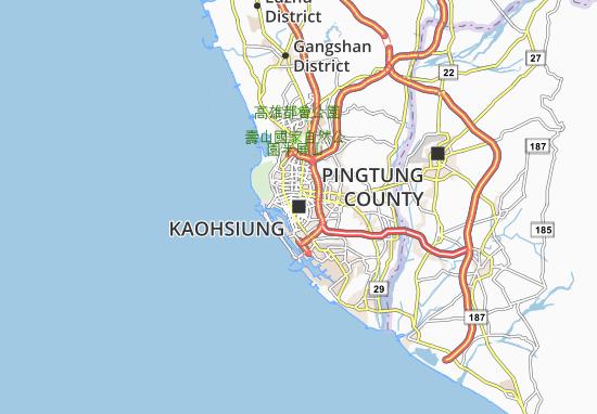 Carte-Plan Kaohsiung
