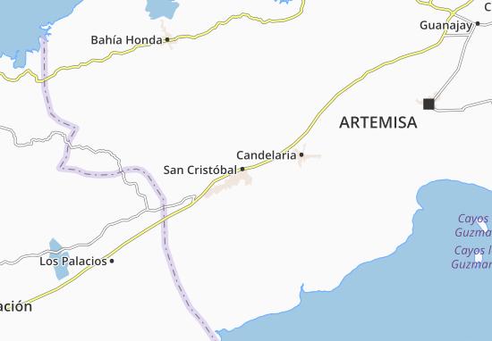 Mapa Plano San Cristóbal