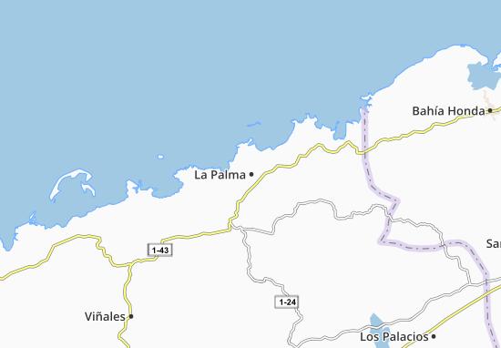 Carte-Plan La Palma