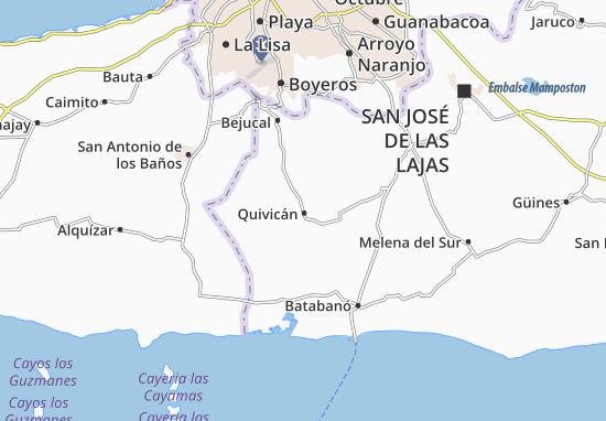 Carte-Plan Quivicán