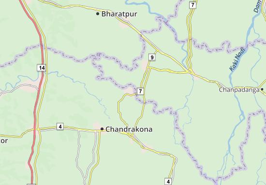 Ramjibanpur Map