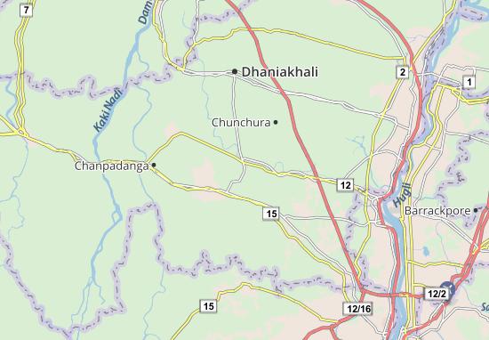 Mapa Plano Haripal