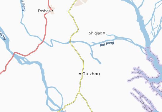 Daliang Map