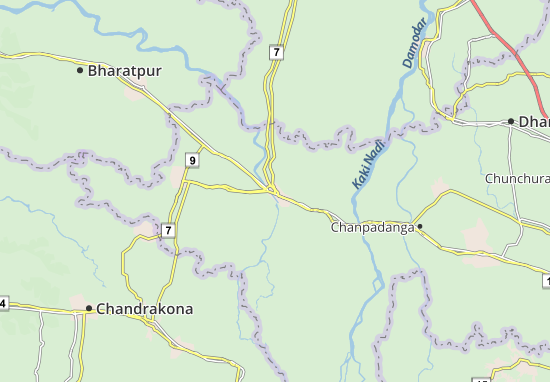 Arambag Map