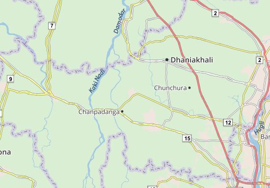 Mapa Plano Jagatballabpur