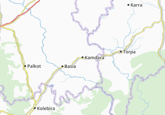 Kamdara Map