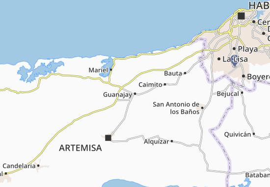 Carte-Plan Guanajay