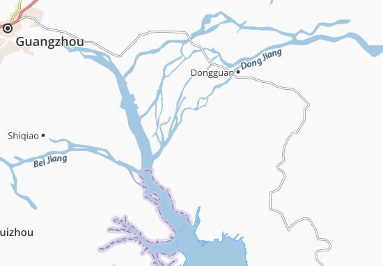 Houjie Map