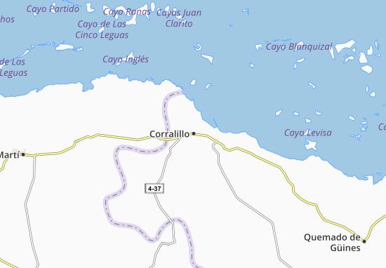 Mappe-Piantine Corralillo
