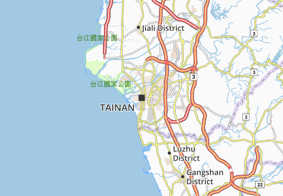 Mappe-Piantine Tainan