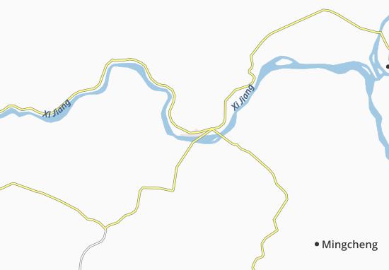 Map Of Zhaoqing Michelin Zhaoqing Map ViaMichelin - Zhaoqing map