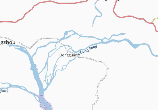 Kaart Plattegrond Dongguan