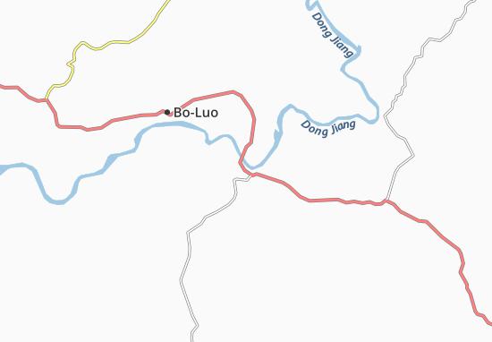 Mapas-Planos Huizhou
