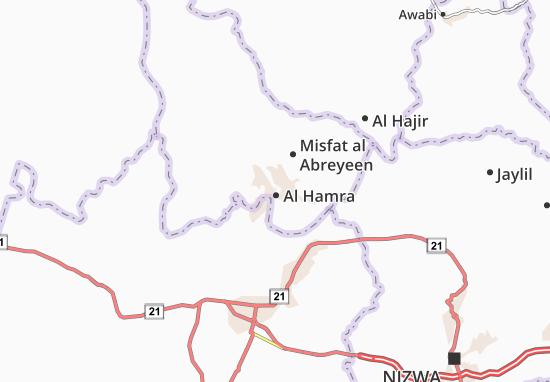 Carte-Plan Al Hamra