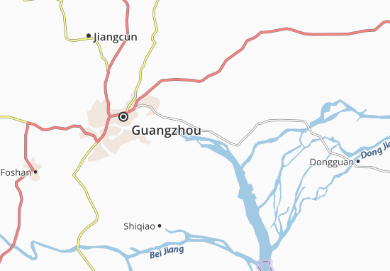 Zhujiangcun Map