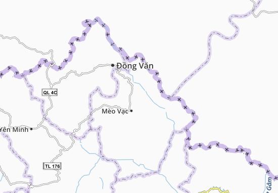 Carte-Plan Giàng Chu Phìn