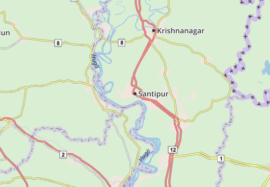 Mapas-Planos Santipur