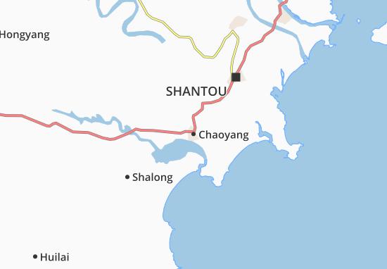 Kaart Plattegrond Chaoyang