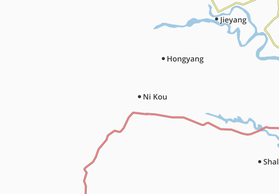 Kaart Plattegrond Ni Kou
