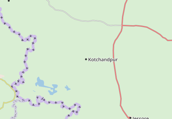 Kotchandpur Map