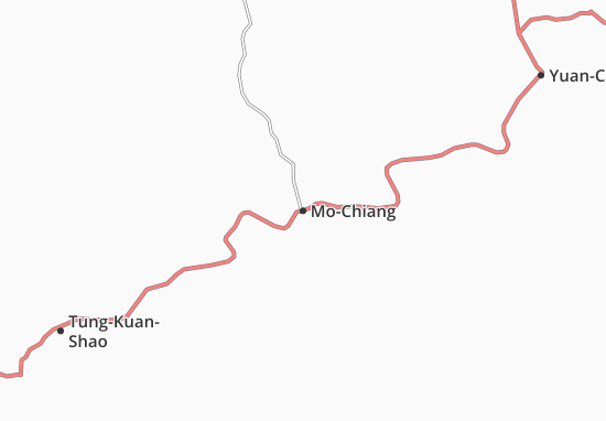 Map of MoChiang Michelin MoChiang map ViaMichelin – Tourist Attractions Map In Missouri