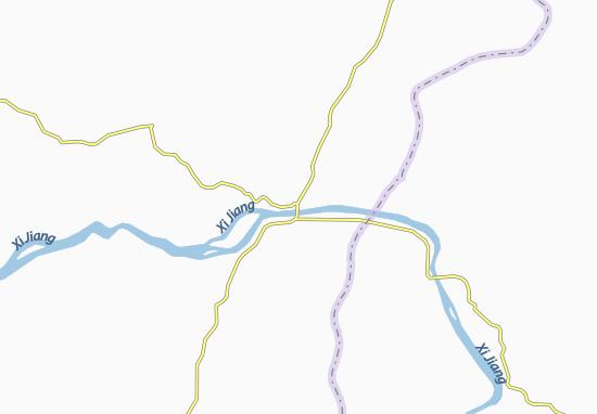 Wuzhou Map