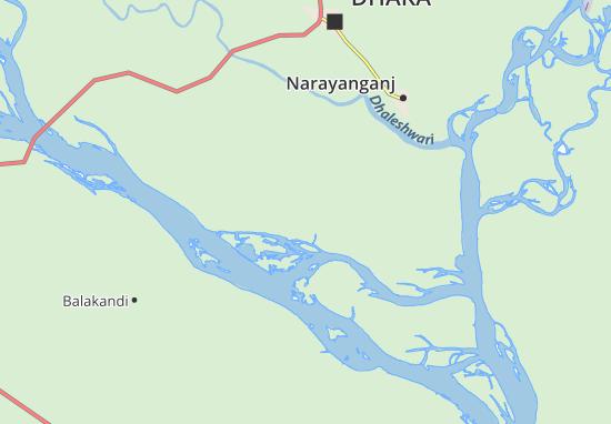 Munshiganjo Map