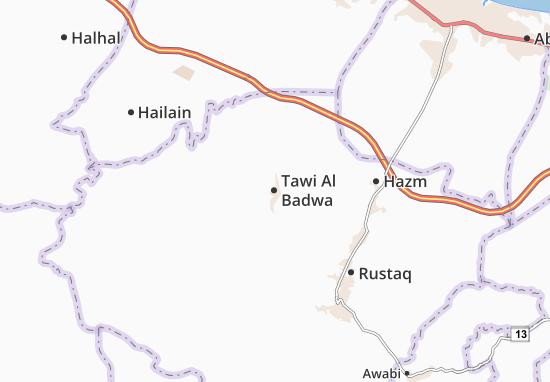 Mapas-Planos Tawi Al Badwa
