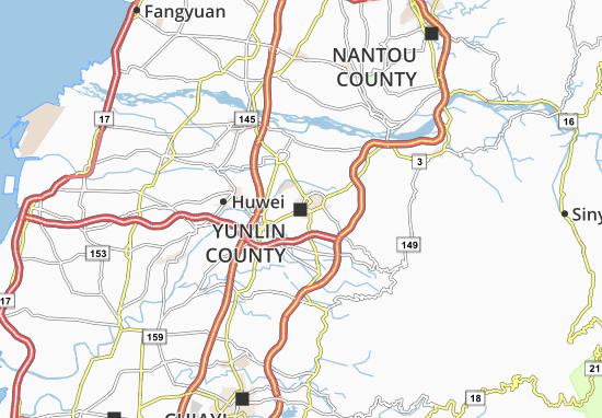 Mapa Plano Huwei