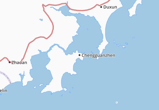 Mappe-Piantine Chengguanzhen