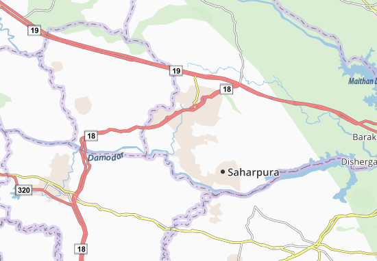 Jharia Map