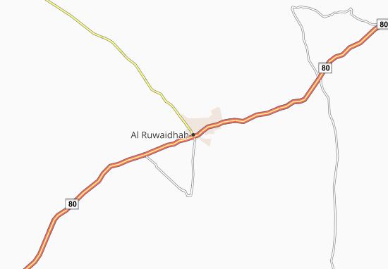 Kaart Plattegrond Al Ruwaidhah
