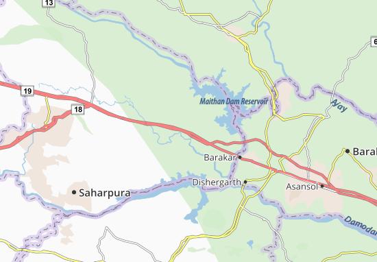 Kaart Plattegrond Nirsa