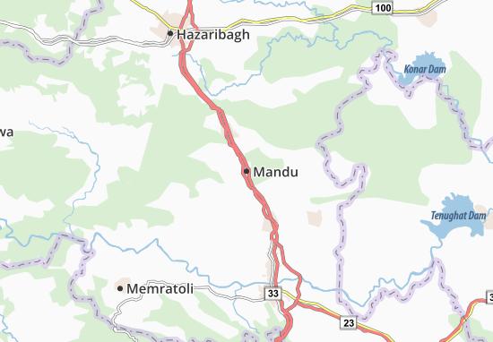 Mandu Map