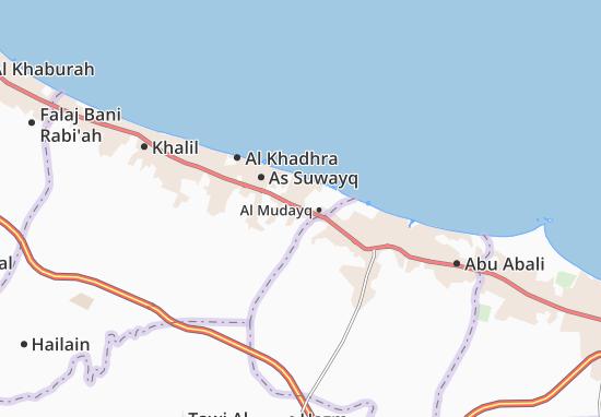 Wadi Al Maawil Map