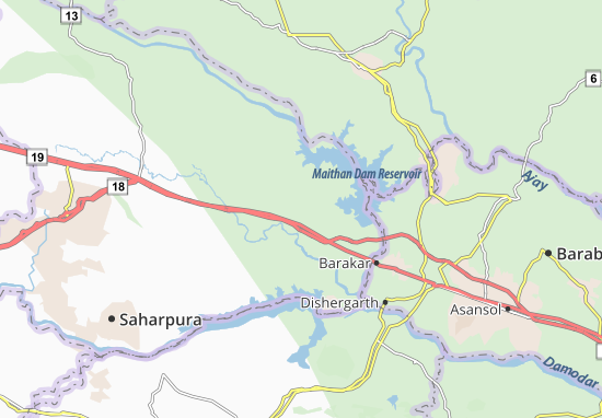 Panrra Map