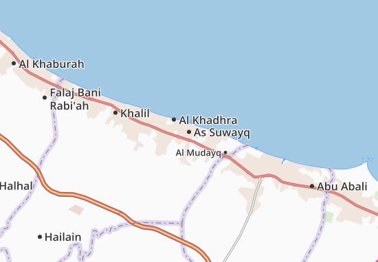Mapa Plano As Suwayq