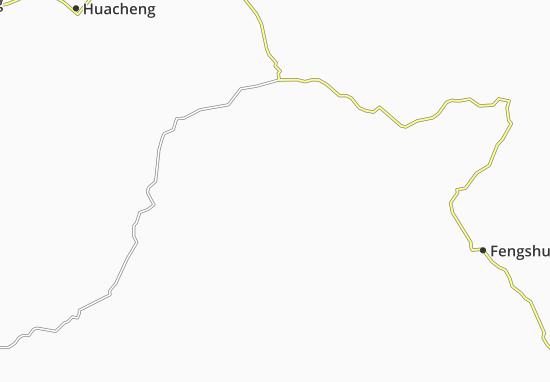 Carte-Plan Pingzhai