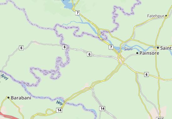 Tantipara Map