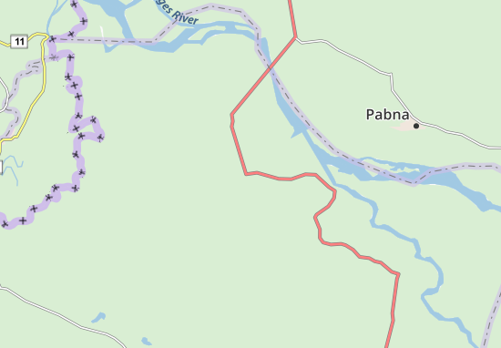 Mappe-Piantine Kushtia