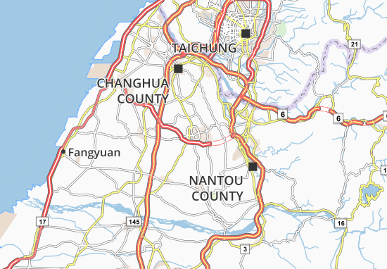Carte-Plan Yuanlin
